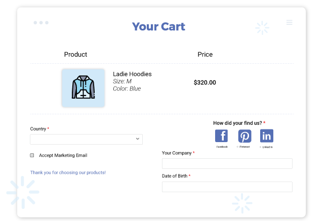 create unlimited additional fields with Shopify customer attribute app