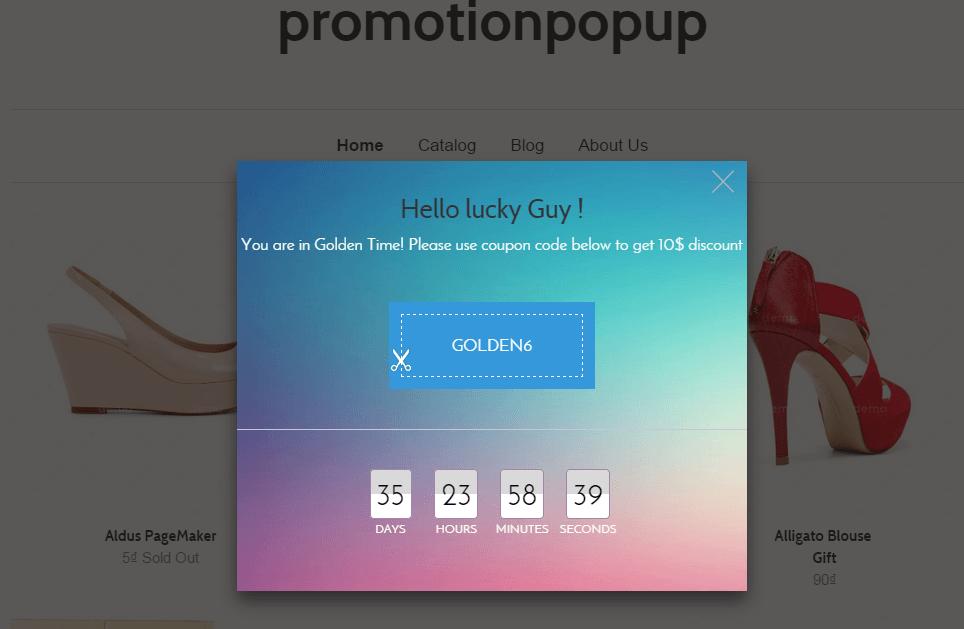 Promotion Popup