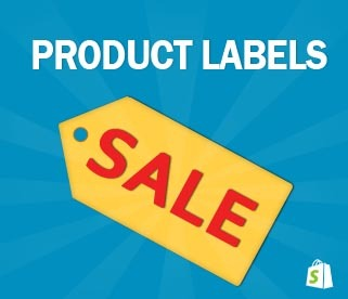 Shopify Product Labels app