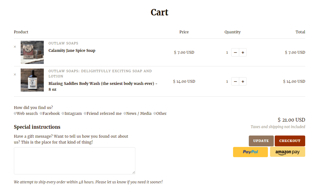 shopify cart attribute example 2