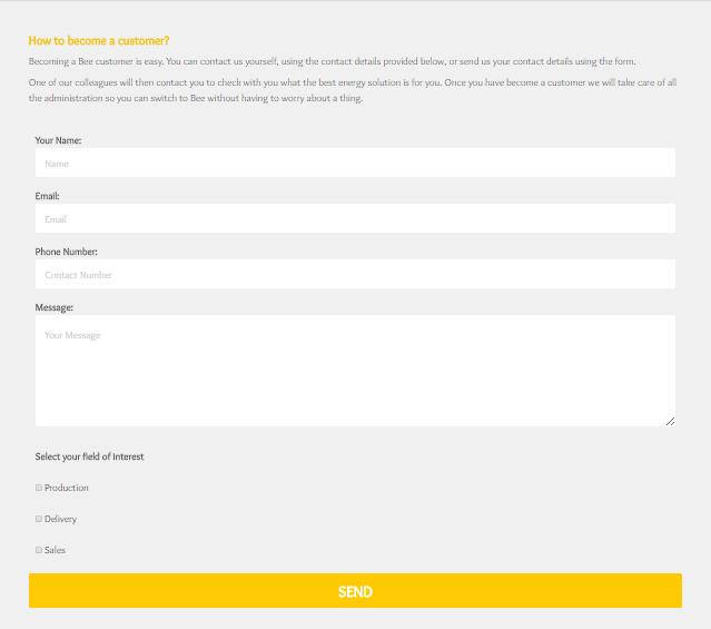 shopify custom form